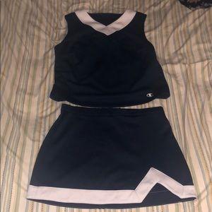 Champion Cheerleading Uniform Top: Xl Bottom: L